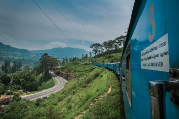 Train Ride Through Sri Lanka
