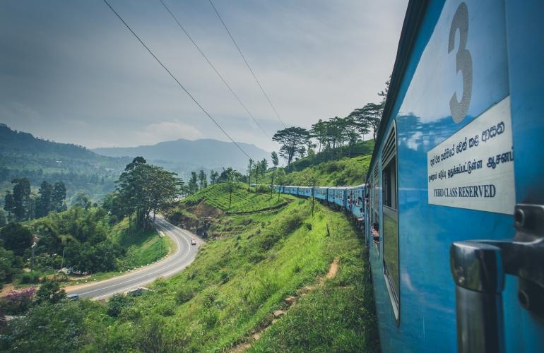 Sri Lanka Train Photograph Ryan Bolton