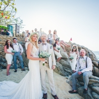 Hideaway Beach Wedding in Mexico with Kevin + Sandra