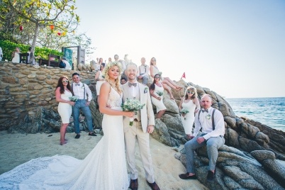 Hidden Beach Weddings in Mexico are the Best