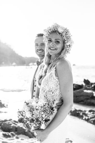Hidden Beach Mexico Wedding with Sandra + Kevin