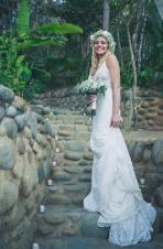 Beach Wedding in Mexico Photograph