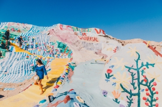 Salvation Mountain Summer Model