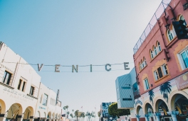 Venice Beach Boardwalk Summer