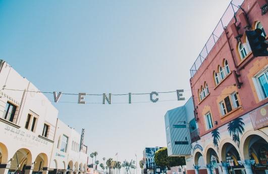 Venice Beach Boardwalk Summer