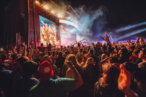 Crowd Shot at Boots & Hearts Festival 2017