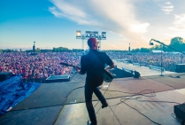 Behind Stage at Boots & Hearts