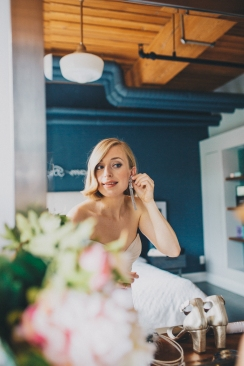 Bride Getting Ready, Toronto