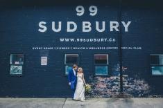 Wedding at 99 Sudbury in Toronto