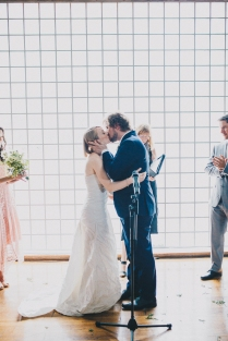 Downtown Love: Andrea + Darcy's Beautiful Toronto Wedding at 99
