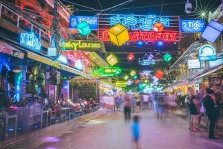Late night at Pub Street, Siem Reap, Cambodia