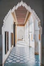 Marrakech's Medina Hallway