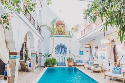 Marrakech Medina in Morocco