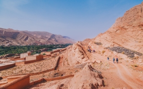 Rolling Hills of Morocco's Atlas Mountains