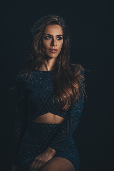 Model Photo Shoot Downtown Toronto