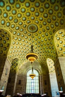 Inside Commerce Court on King in Toronto