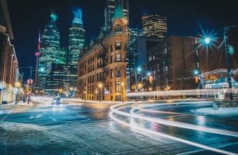 Toronto Flatiron The Gooderham Building