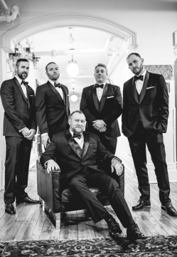 Gladstone Hotel Toronto Wedding with the Boys