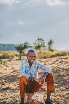 Maasai Boy in Kenya