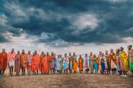 Maasai Celebration in Kenya. Photo by Ryan Bolton.