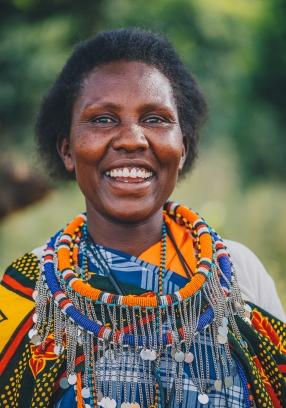 Maasai Mama in Kenya with Me to We. Ryan Bolton Photo.