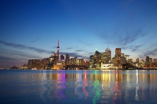 Toronto Skyline Night