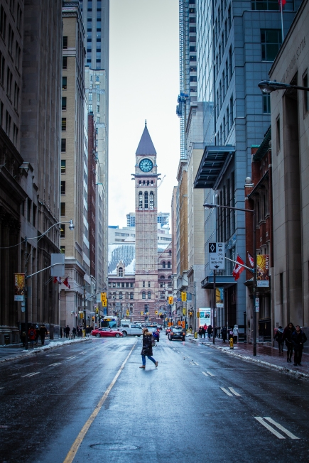 Winter Walks at Old City Hall Toronto