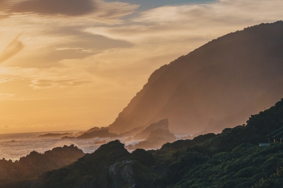South Africa's beautiful Wild Coast Sunset