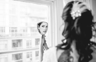 Portrait of Lisa on her Wedding Day