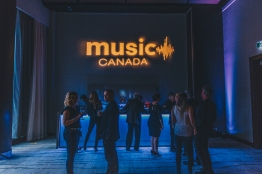 Music Canada JUNOs welcome reception