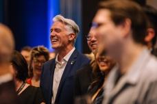 JUNOs CEO Allan Reid having a laugh