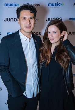 Jeffrey Remedios and Lucia Graca at JUNOs