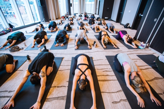 Yoga at the JUNOs