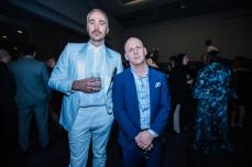 Sebastian Grainger and Rodney Murphy at JUNOs Gala 2018