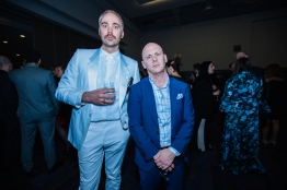Sebastian Grainger and Rodney Murphy at JUNOs Gala 2018