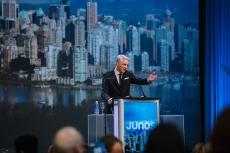 Allan Reid at The JUNO Awards Gala in Vancouver