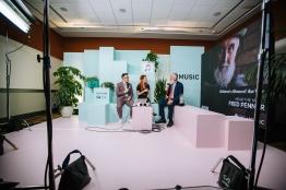 Behind-the-scenes at JUNO TV