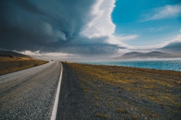 The weather in Iceland changes constantly.