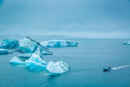 Jökulsárlón Glacier Lagoon.