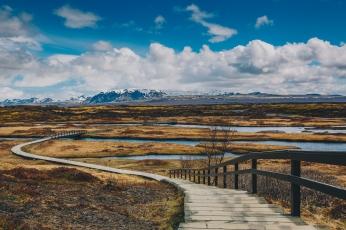 Icelandic Pingvellir National Park
