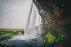 Justin Bieber's Favourite Waterfall, Seljalandsfoss Waterfall Iceland