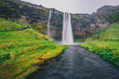 Seljalandsfoss Waterfall Iceland