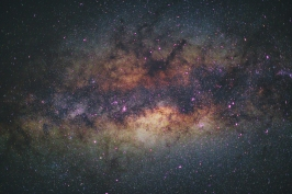The Milky Way Over African Skies in Kenya