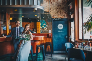 Toronto Wedding at Gladstone Hotel, 2018