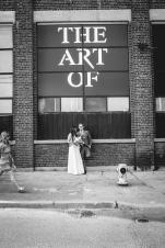 Art of Banksy Wedding Drop By