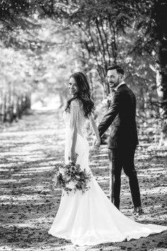 Wedding Day at Kortright Conservation, Summer 2018