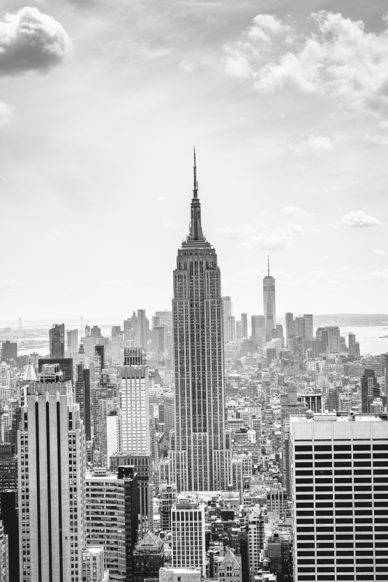 View of Empire State in NYC