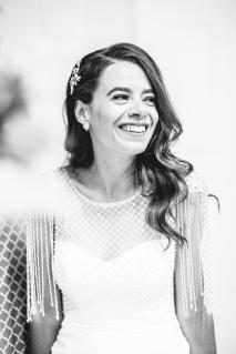 Allie on her wedding day.