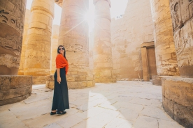 Shot in Luxor, Egypt.