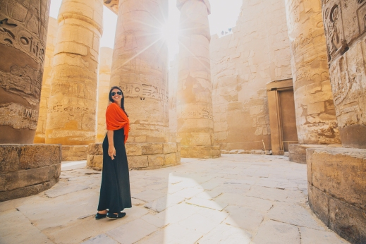 Shot in Luxor, Egypt.